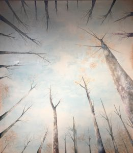 """Claridad"". Óleo sobre lienzo. 205 x 234 cm. VENDIDO."